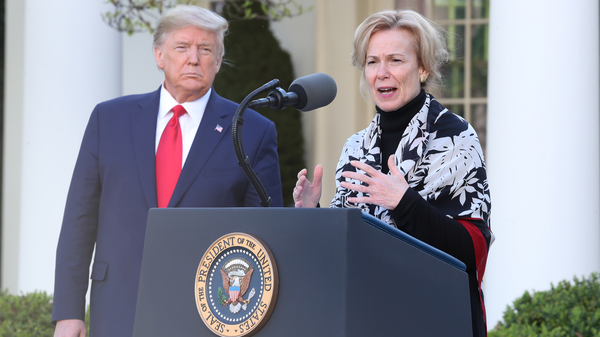 At Tuesday's briefing, Dr. Deborah Birx, the White House's coronavirus response coordinator, is expected to offer details of modeling that helped convince President Trump to extend his social distance guidelines.