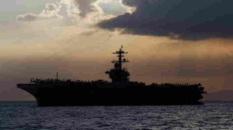 Top Navy Brass Defend Response To Virus-Stricken Carrier U.S.S. Theodore Roosevelt