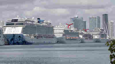 Coast Guard Tells Cruise Ships With COVID-19 Cases To Stay Away From U.S. Ports
