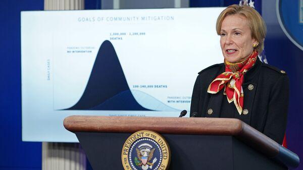 Dr. Deborah Birx, response coordinator for the White House