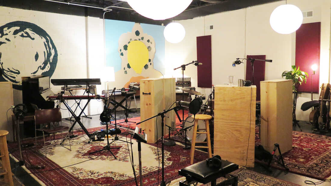 A Look Inside Spacebomb Studios, The Creative Hub In Richmond, Va.