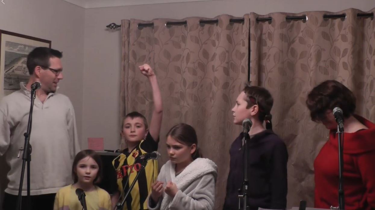 UK family's lockdown-themed rendition of 'Les Mis' is a delight  | MPR News