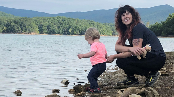 Nicolena Loshonkohl, a single mom in Roanoke, Va., lost all her income when the hair salon where she worked shut down. She