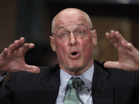 """Henry Paulson, who served as Treasury secretary during the 2008 financial crisis, says the current Treasury secretary and the Fed chair have """"got their work cut out for them."""""""
