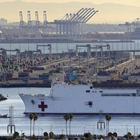 Train Engineer Says He Crashed In Attempt To Attack Navy Hospital Ship In L.A.