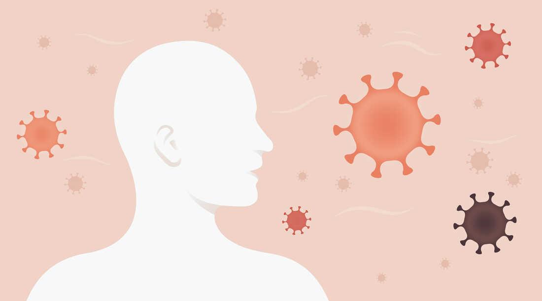 Image for story on coronavirus transmission.