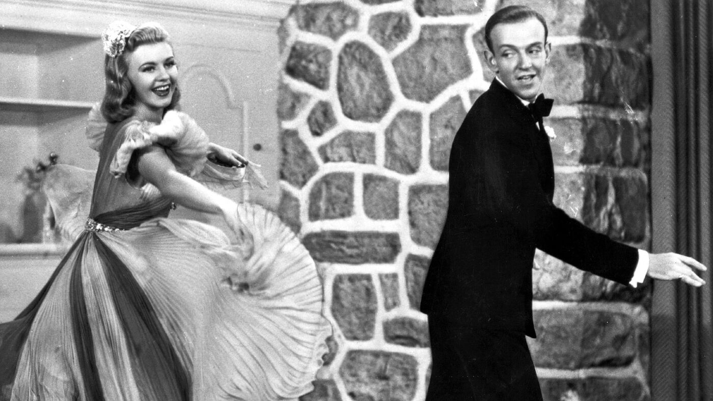 Fred Astaire Ginger Rogers Dancing Cheek To Cheek