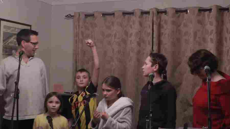 U.K. Family's Lockdown-Themed Rendition Of 'Les Mis' Is A Delight
