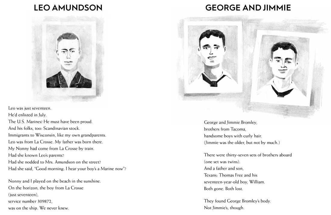 Leo Amundson, George and Jimmie