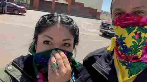 As Coronavirus Cases Rise, Navajo Nation Tries To Get Ahead Of Pandemic