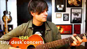 Ben Gibbard Pays Tribute To Adam Schlesinger In A Tiny Desk (Home) Concert