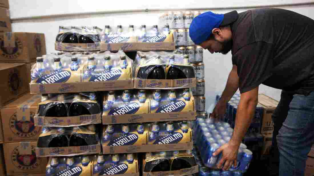 Shoppers In Mexico Are Panic Buying Beer During The Coronavirus