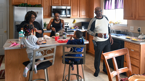 More than 64 million Americans live in multigenerational households. Despite the emotional and financial benefits of living together, families like the Walkers, at home in Florissant, Mo., face a particular set of challenges as COVID-19 continues to spread.