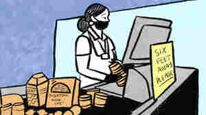 COMIC: Grocery Workers Are Essential, And Feeling The Strain