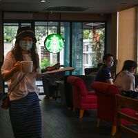 Starbucks Now Requires Employees To Wear Face Coverings At Work