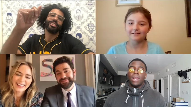 'Hamilton' Cast Reunites For Emily Blunt, John Krasinski And One Lucky 9-Year-Old
