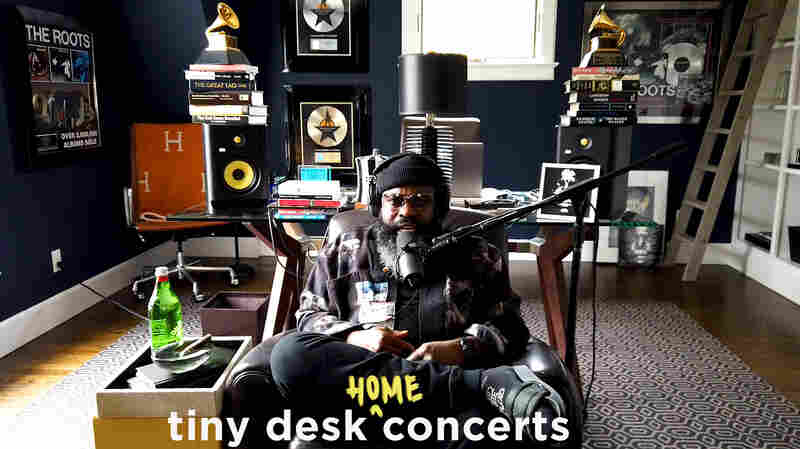 The Roots' Black Thought Premieres Three New Songs In A Tiny Desk (Home) Concert