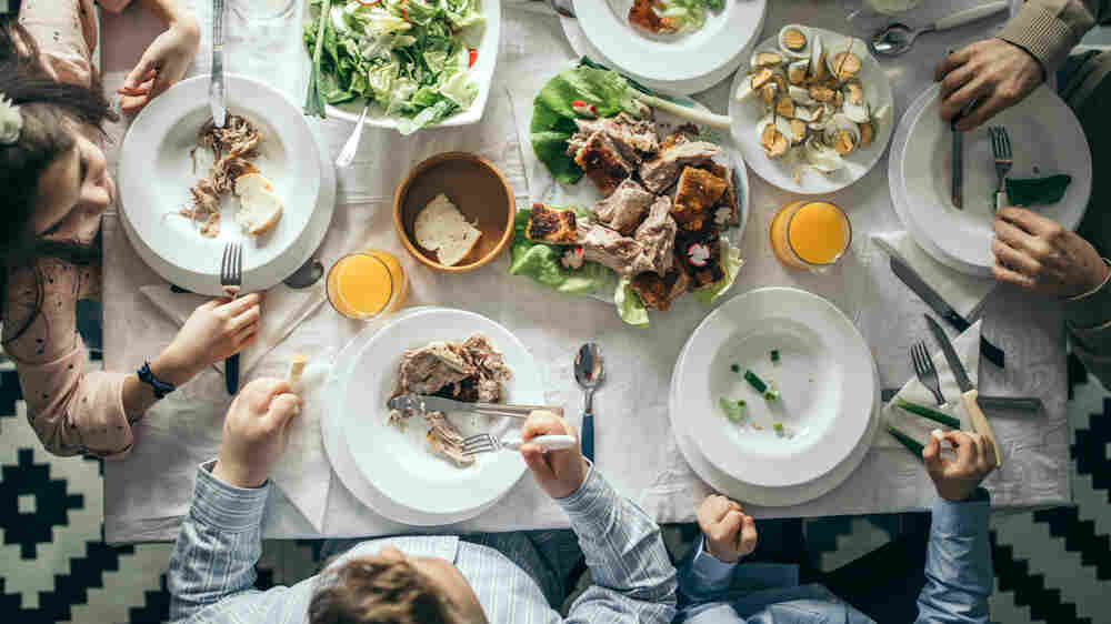 Cooking During COVID-19: Family Meals And Fantasies Of Future Dinner Parties