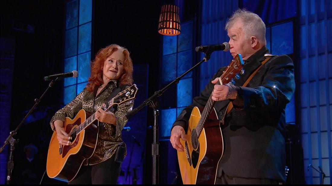 Watch And Weep: John Prine And Bonnie Raitt Perform 'Angel From Montgomery'