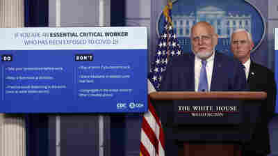 White House Announces New Guidance For How Critical Employees Can Return To Work