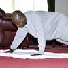 Ugandan President Museveni Entertains With An Instructive Workout Video
