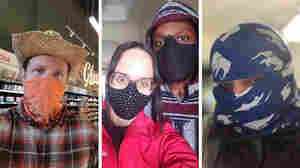 Bandanas, Balaclavas, Bra Straps: How People Are Answering Call To Cover Their Faces