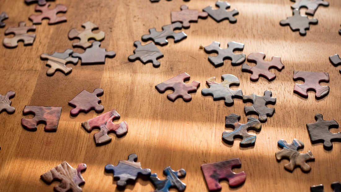 Jigsaw puzzles are selling out.