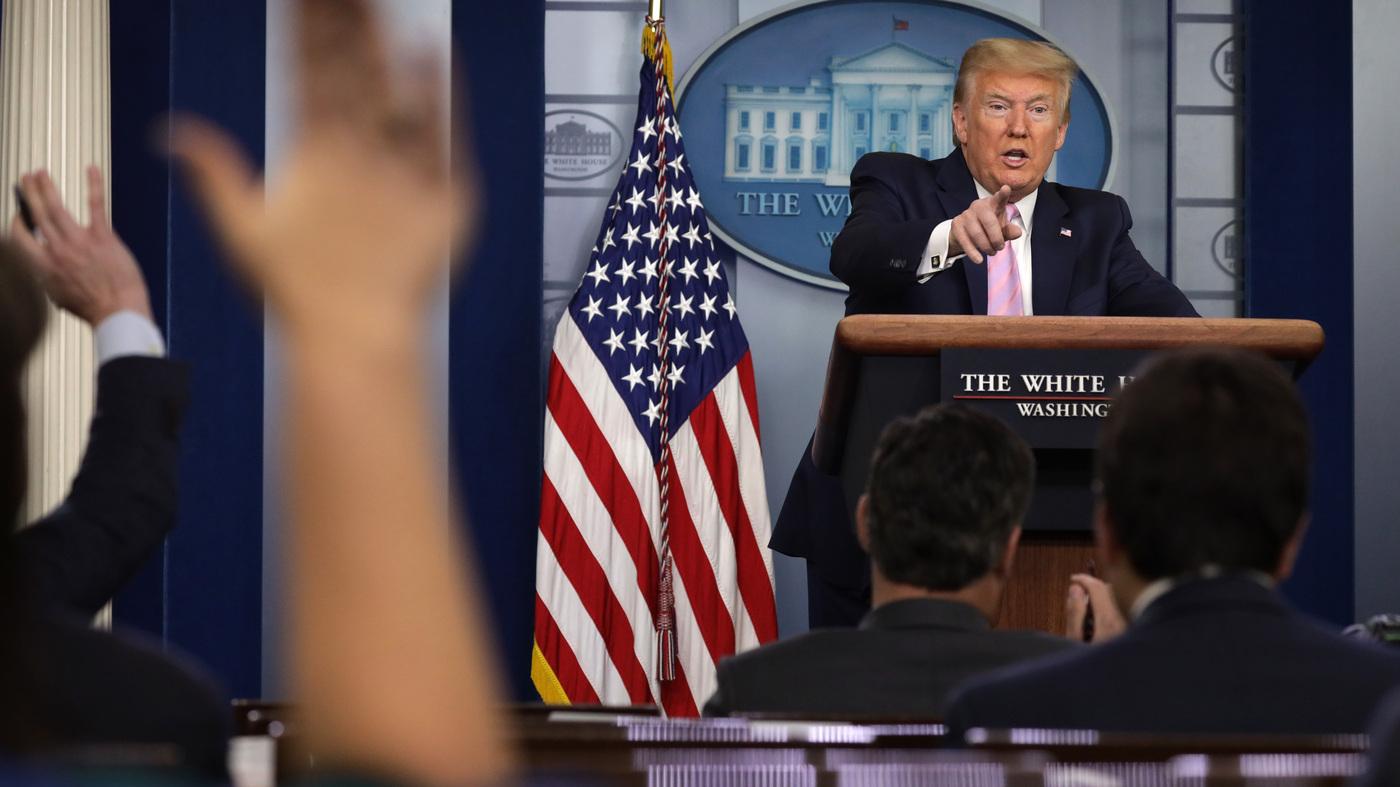 Watch Live: White House Coronavirus Task Force Briefing Monday - NPR
