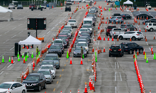 Is the U.S. getting close to being able to reopen, after weeks of social distancing? Experts say more work needs to be done ramping up systems like drive-through COVID-19 testing centers.