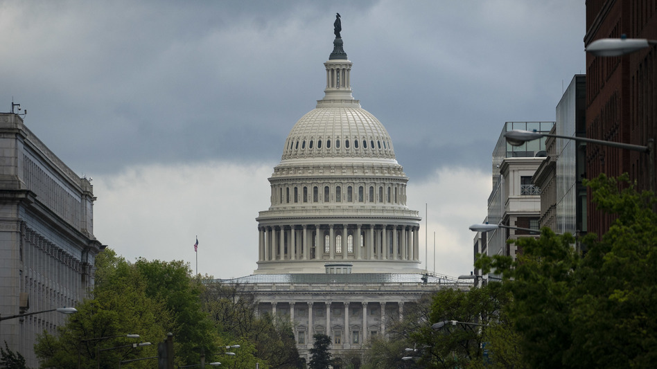 The U.S. Capitol has been hit by the coronavirus like the rest of the country, grappling with protective measures and multiple cases. (Al Drago/Bloomberg via Getty Images)