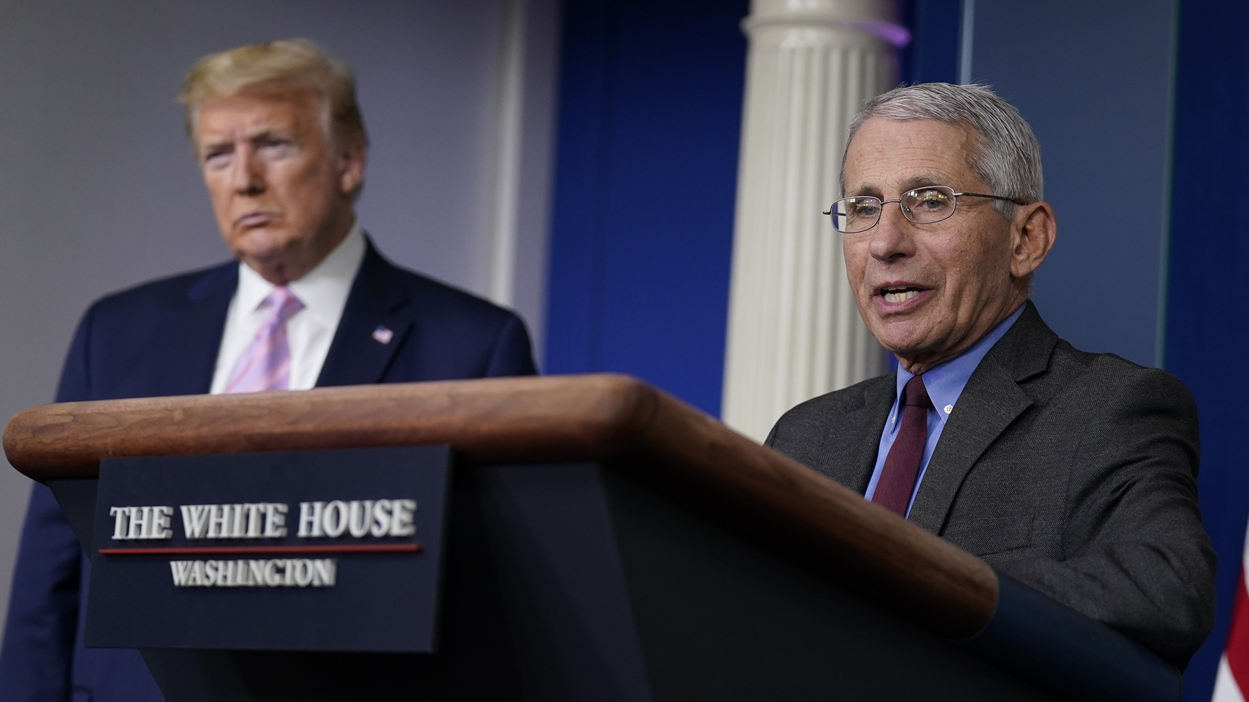 WATCH: Dr. Fauci says he has not been involved in Trump's coronavirus treatment