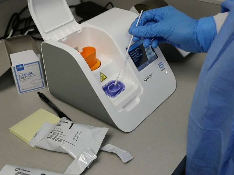 A Covid 19 Test That Gets Results In Minutes Rolls Out Across D C Region Npr
