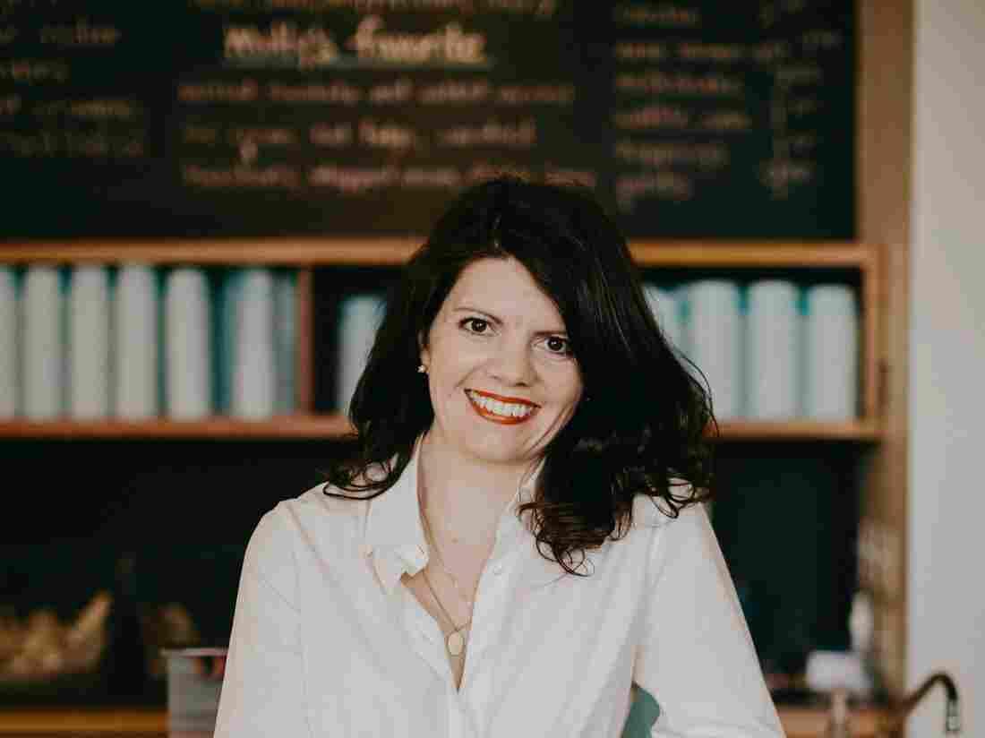 Molly Moon Neitzel, CEO of Molly Moon's Homemade Ice Cream in Seattle, Washington.