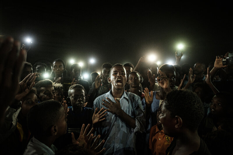 World Press Photo Winner Captures Poetic Moment At A Protest : NPR