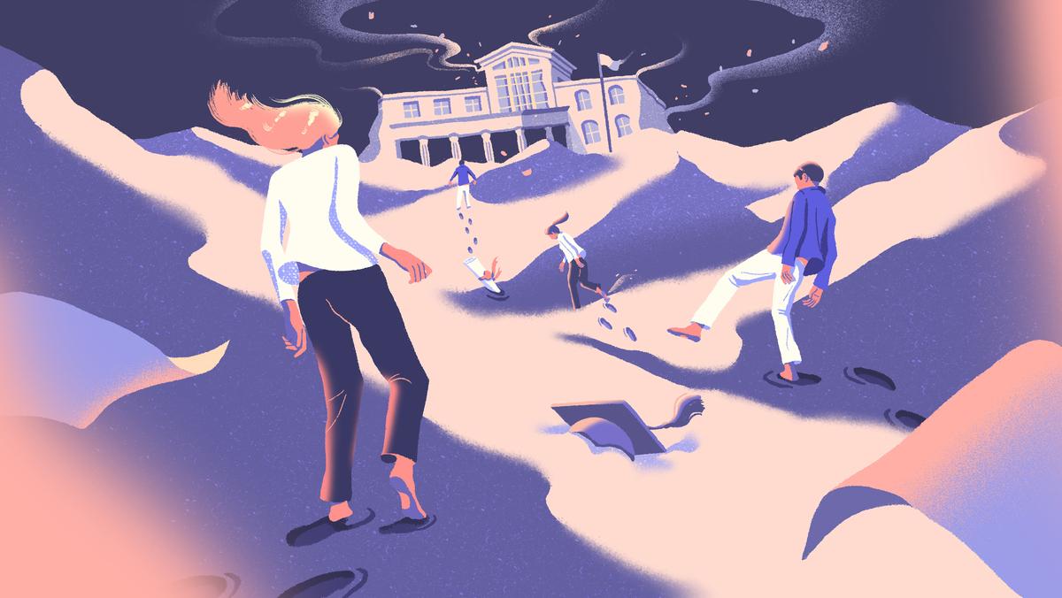 Teens feel lost during the coronavirus pandemic.