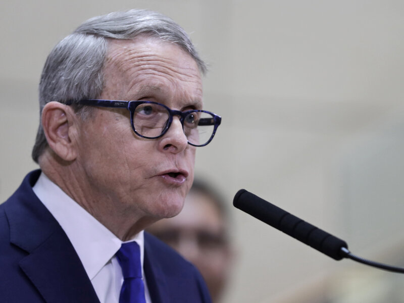 Ohio Gov Mike Dewine Reopening State Demands A Nuanced Balance Coronavirus Updates Npr