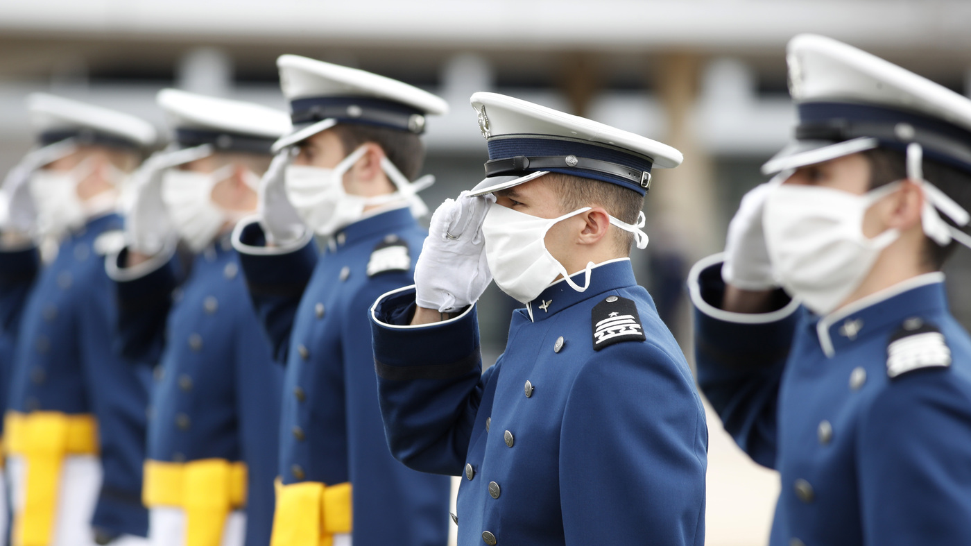 'We'll Get Through This,' Pence Tells Air Force Academy Graduates