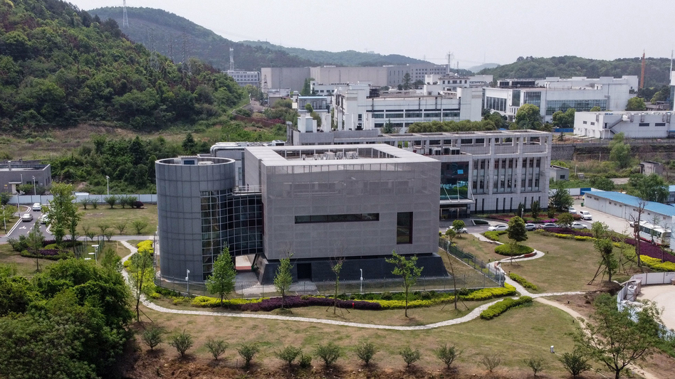 The Wuhan Institute of Virology (above) has been the focus of the lab accident theory. Scientists interviewed by NPR said that all evidence points to the pandemic not being the result of a lab accident. (Hector Retamal/AFP via Getty Images)
