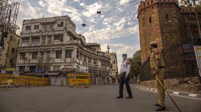 Blamed For Coronavirus Outbreak, Muslims In India Come Under Attack