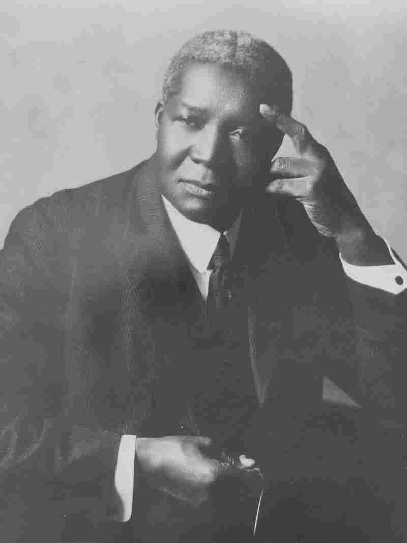 African-American educator and author Robert Russa Moton, 1935.