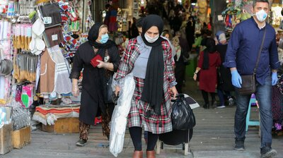 Iran Hopes Slowing Rise Of COVID-19 Cases Means The Worst Is Over