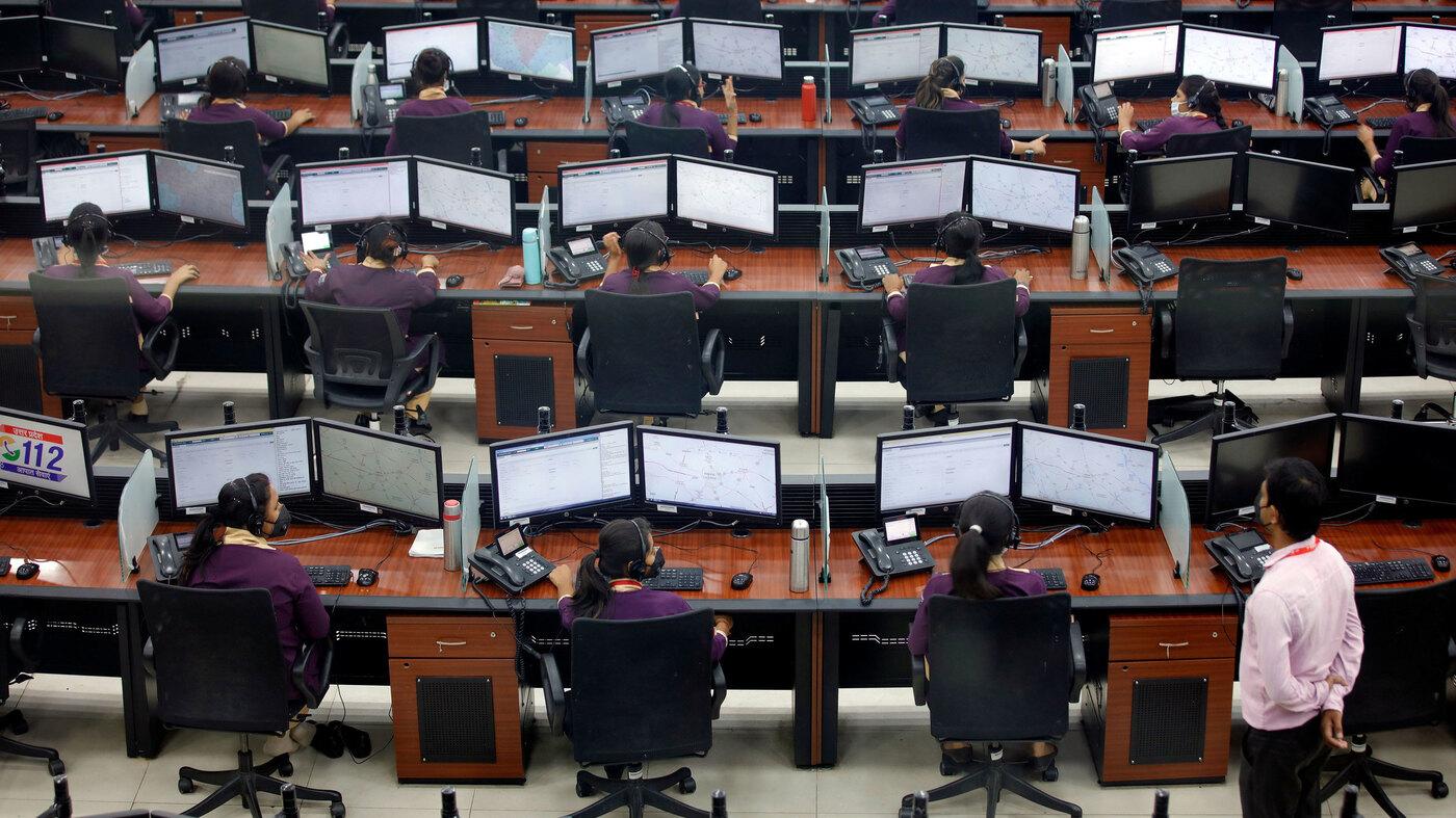 India S Lockdown Puts Strain On Call Centers Npr