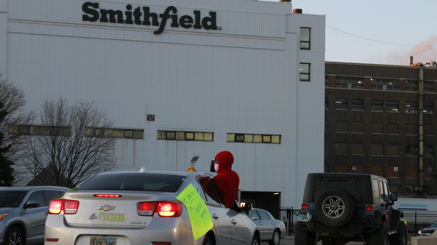 Workers Sue Smithfield Foods, Allege Conditions Put Them At Risk For COVID-19