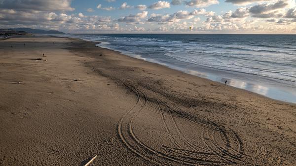 Ocean Beach in San Francisco, Calif., as seen on March 25.