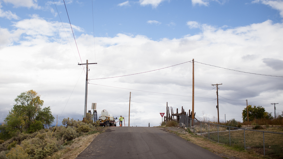 In recent years, former coal miners were retrained to work with fiber optics, expanding high-speed Internet — and possible economic opportunities — to rural areas. (Meredith Rizzo/NPR)