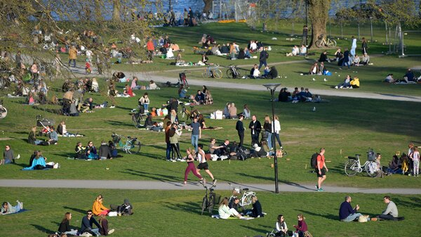 Stockholm Expected To Reach Herd Immunity In May, Swedish Ambassador Says