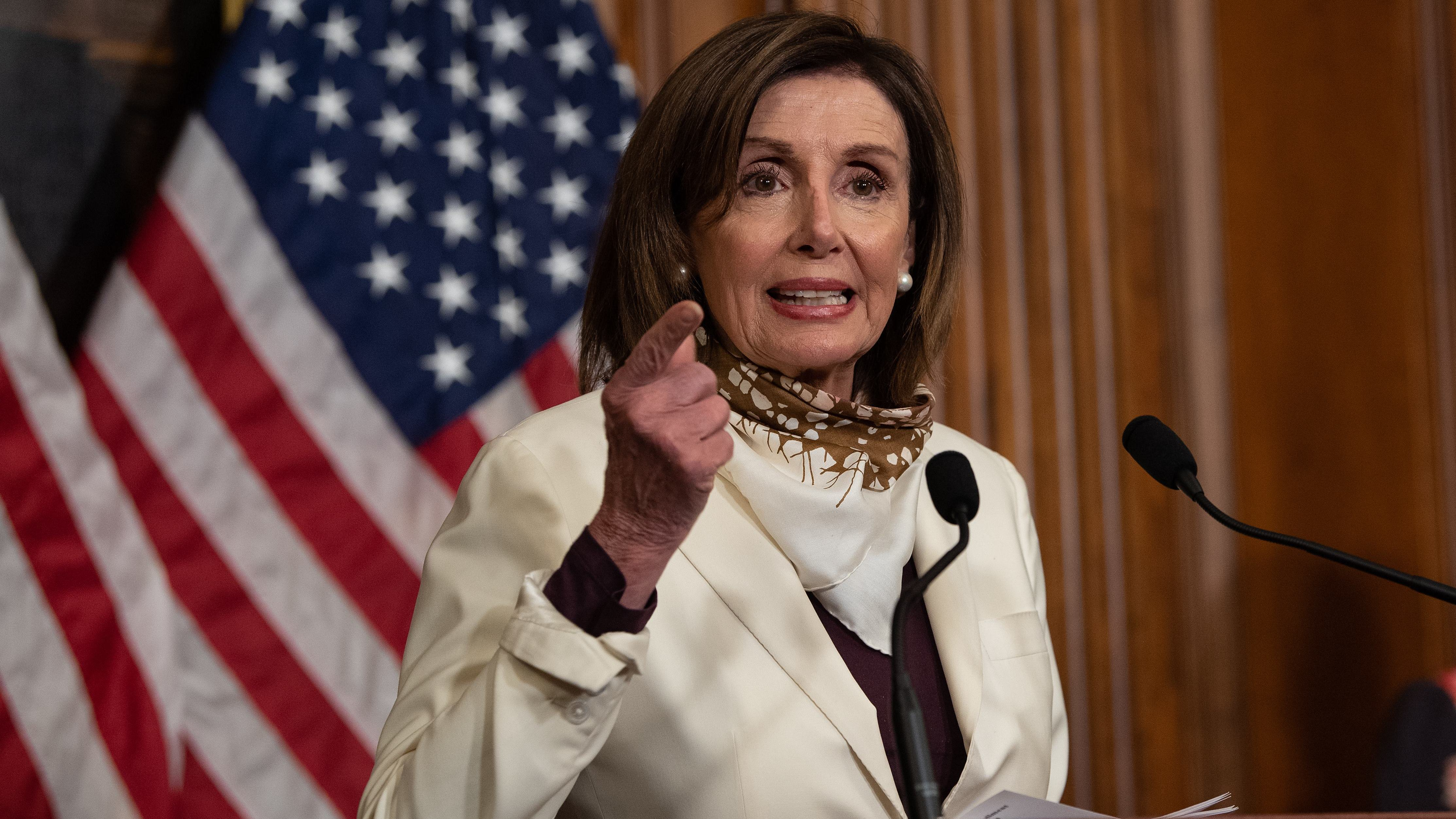Leading Democrat Pelosi endorses Joe Biden for United States president