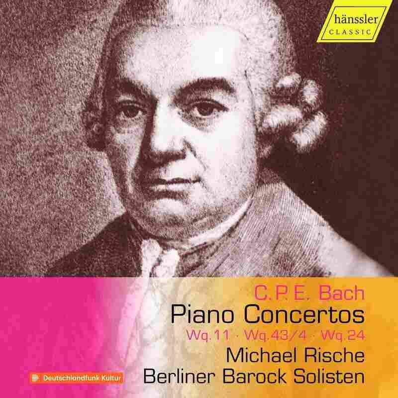 Michael Rische & Berliner Barock Solisten, 'C.P.E. Bach: Piano Concertos'