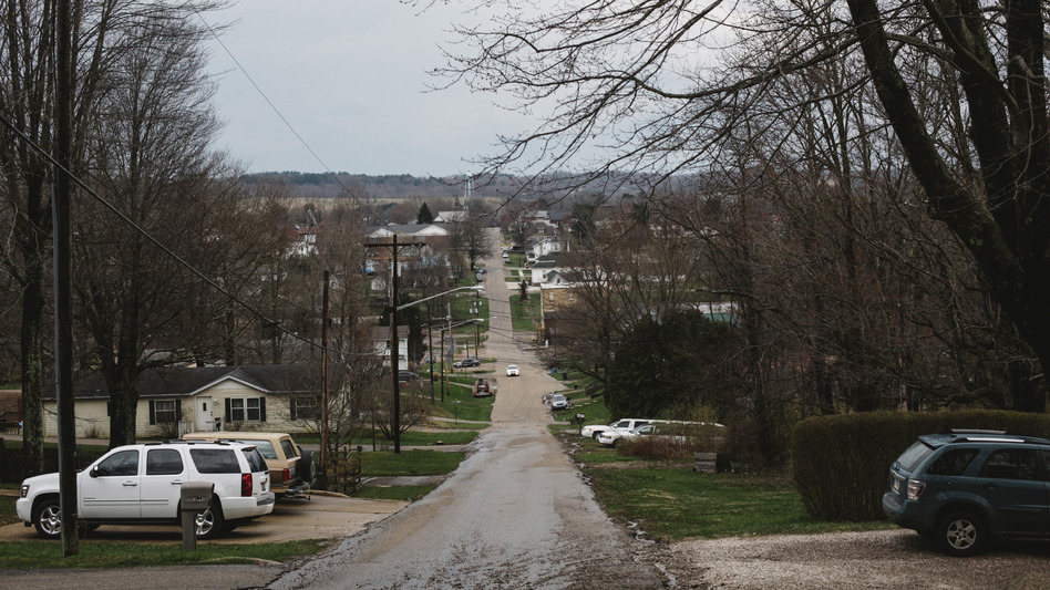 McArthur, the county seat of Vinton County, Ohio, shown on April. 3, 2018. The county prosecutor says the pandemic has put additional strain on children who have parents addicted to drugs. (Andrew Spear/The Washington Post via Getty Images)