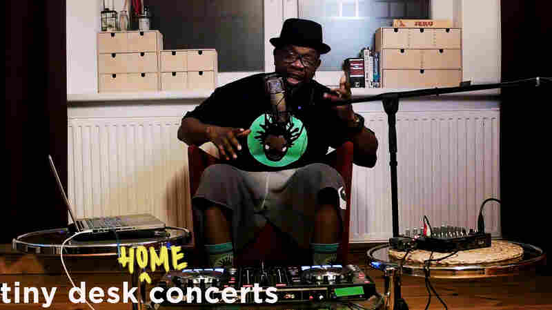 Jeru The Damaja Plays A Tiny Desk From His Berlin Home